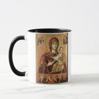 Detail of the Madonna and Child from the Iconostas Mug