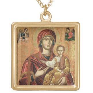 Detail of the Madonna and Child from the Iconostas Custom Jewelry