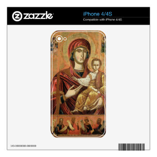 Detail of the Madonna and Child from the Iconostas Skins For iPhone 4