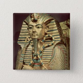 Detail of the second mummiform coffin button