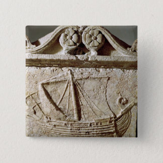 Detail of the Ship Sarcophagus, from Sidon Button