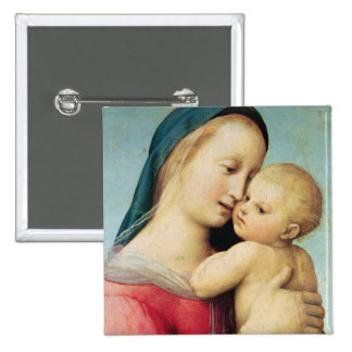 Detail of the 'Tempi' Madonna, 1508 2 Inch Square Button