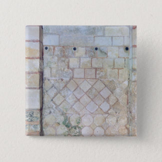 Detail of the wall of the Crypt of St. Paul Pinback Button