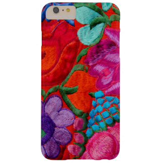 Detail of traditional embroidery floral textile barely there iPhone 6 plus case