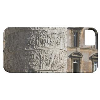 detail of Trajan s Column with buildings behind iPhone 5 Covers