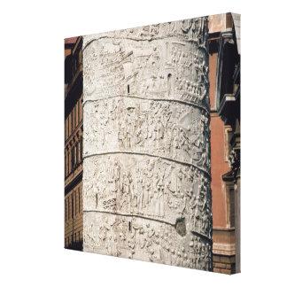 Detail of Trajan's Column Canvas Prints
