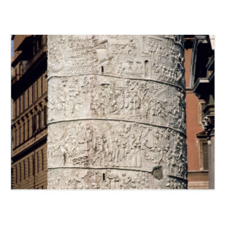 Detail of Trajan's Column Postcard
