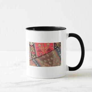 Detail of two prayer rugs mug