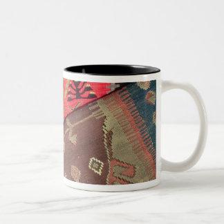 Detail of two prayer rugs Two-Tone coffee mug