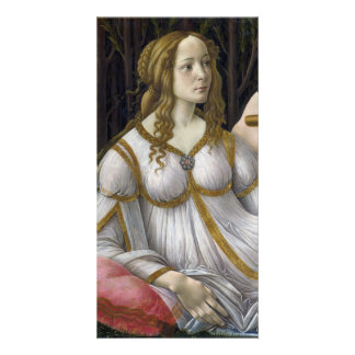 Detail of Venus, Venus and Mars by Botticelli Photo Cards