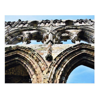 Detail Of Whitby Abbey Wall Postcard