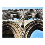 Detail Of Whitby Abbey Wall Postcards