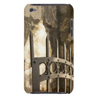 Detail of wrought iron gate in San Antonio Barely There iPod Case