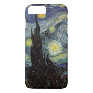 Detail Starry Night by van Gogh iPhone 7 Plus Case