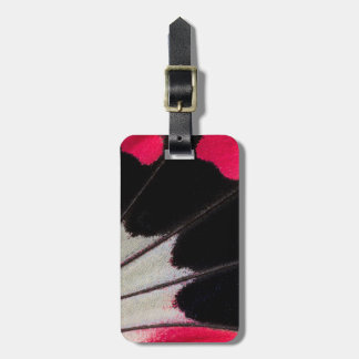 Detail Wing Pattern of Tropical Butterfly Luggage Tag