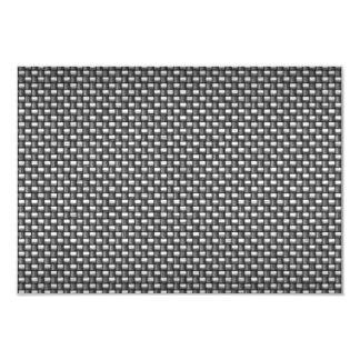 Detailed Carbon Fiber Textured Card