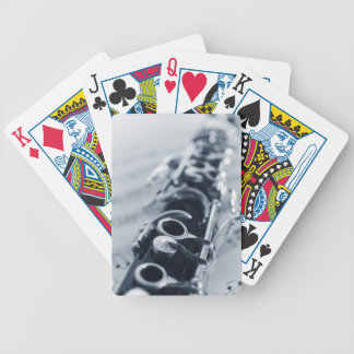 Detailed Clarinet Bicycle Playing Cards