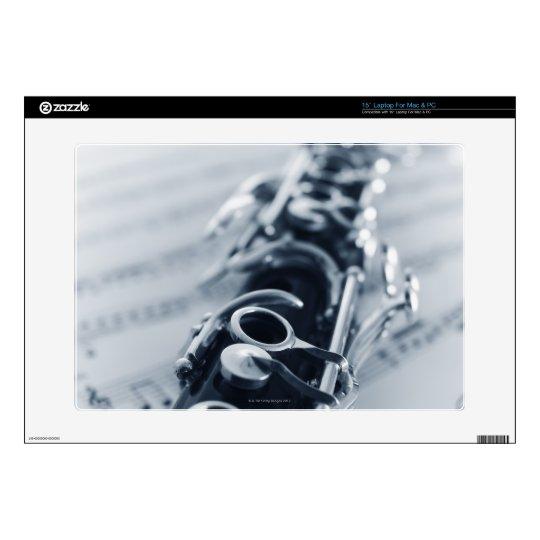 Detailed Clarinet Laptop Decals