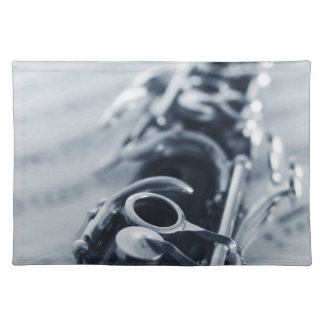 Detailed Clarinet Placemats