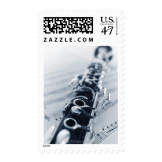 Detailed Clarinet Postage