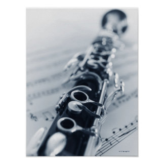 Detailed Clarinet Print