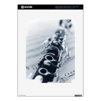 Detailed Clarinet Skin For iPad 3