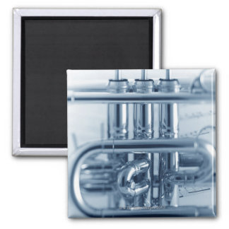 Detailed Cornet Magnet
