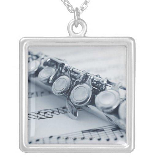 Detailed Flute Custom Jewelry
