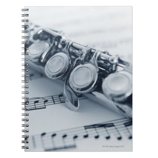 Detailed Flute Notebook