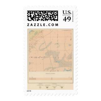 Detailed Geology Sheet IX Postage Stamp