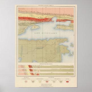 Detailed Geology Sheet V Poster