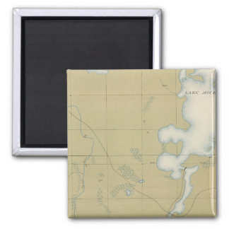 Detailed Geology Sheet VI 2 Inch Square Magnet