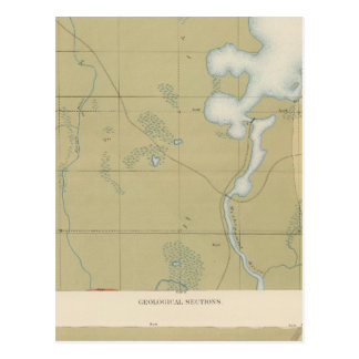 Detailed Geology Sheet VI Postcard