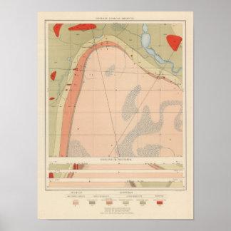 Detailed Geology Sheet VII Poster