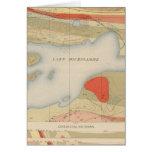 Detailed Geology Sheet VIII Greeting Card