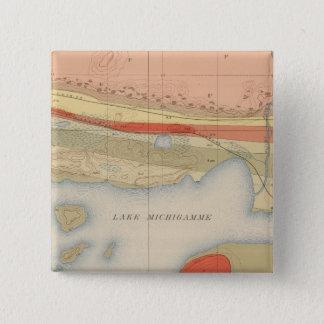 Detailed Geology Sheet VIII Pinback Button