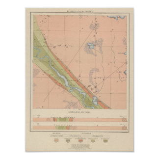 Detailed Geology Sheet X Poster