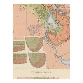 Detailed Geology Sheet XI Postcard