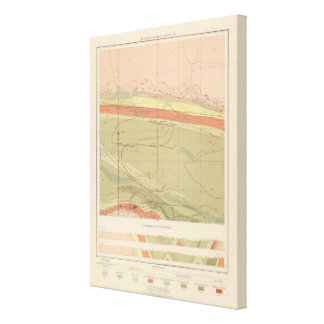 Detailed Geology Sheet XII Canvas Print