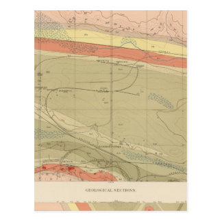 Detailed Geology Sheet XII Post Card