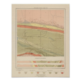 Detailed Geology Sheet XII Poster