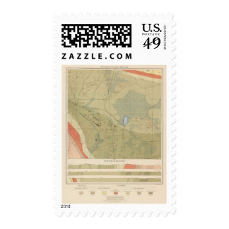 Detailed Geology Sheet XIX Stamps