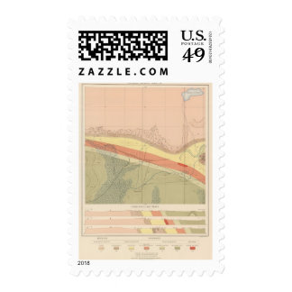 Detailed Geology Sheet XV Stamps