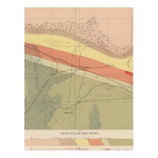Detailed Geology Sheet XVI Post Card