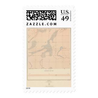 Detailed Geology Sheet XVII Stamp