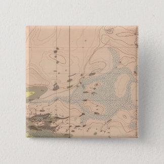 Detailed Geology Sheet XVIII Pinback Button