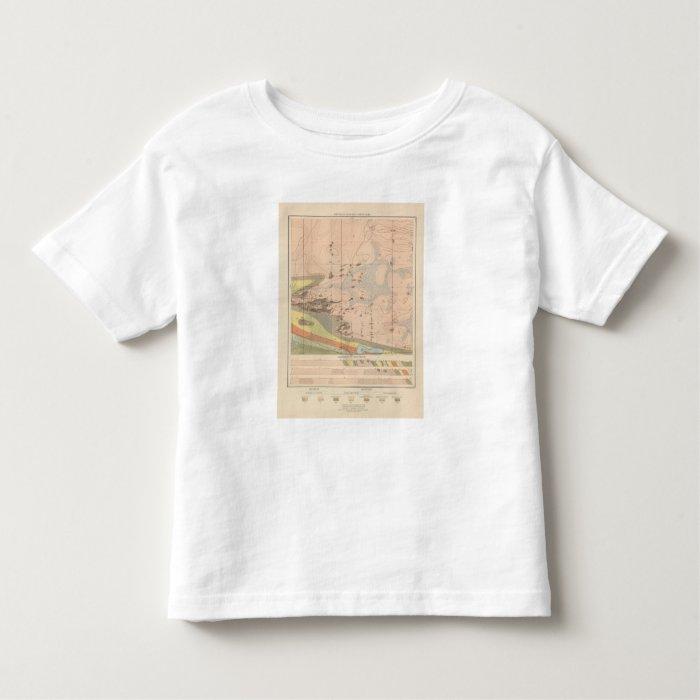 Detailed Geology Sheet XVIII Toddler T-shirt