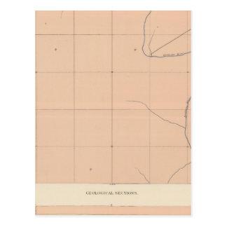 Detailed Geology Sheet XX Postcard
