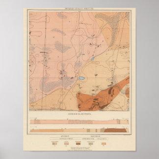 Detailed Geology Sheet XXI Poster