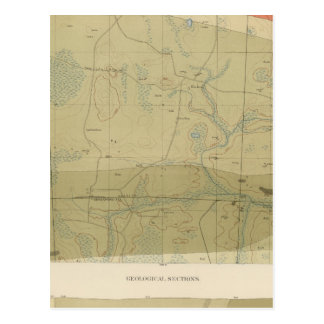 Detailed Geology Sheet XXII Postcard
